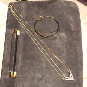 Victoria's secret necklace and bracelet